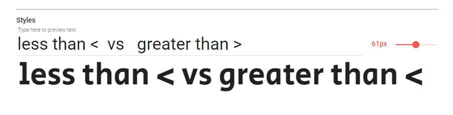 Greater Than Symbol Shows Less Than Symbol Issue 5 Michalsahar