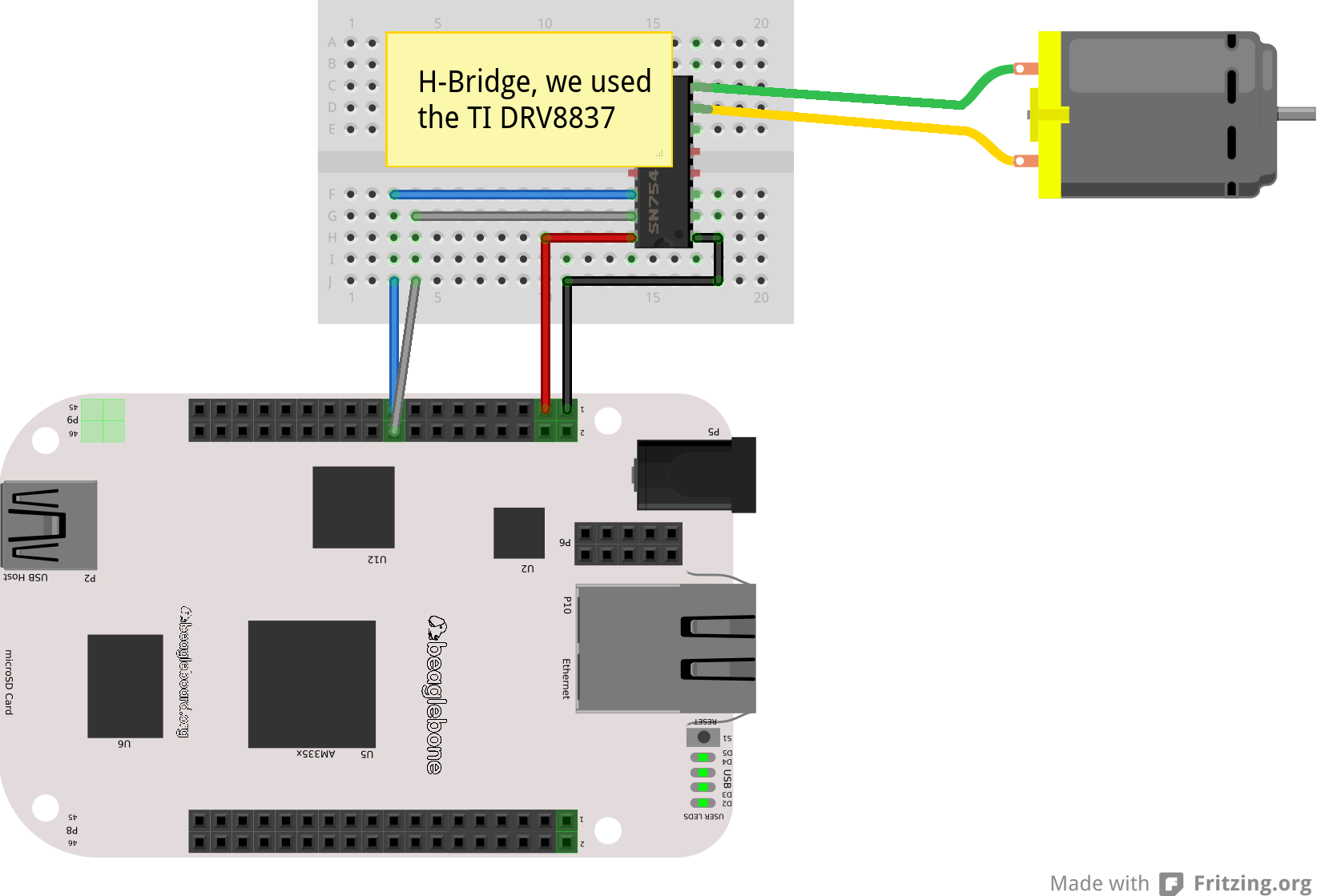 GitHub - vmayoral/bb_dc_motors: ROS package that launches a