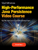 High-Performance Java Persistence video course
