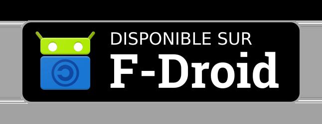 Disponible sur F-Droid