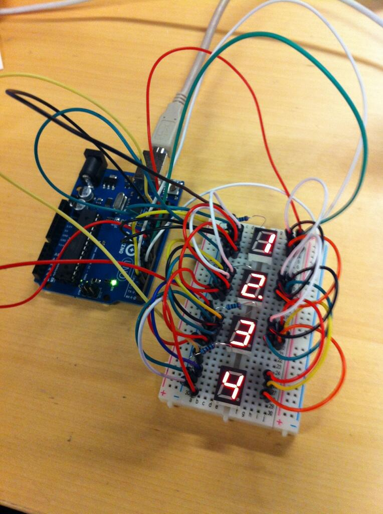 David's arduino test