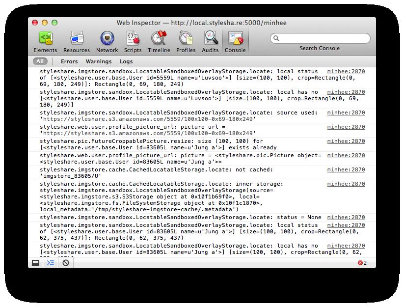 Safari Web Inspector