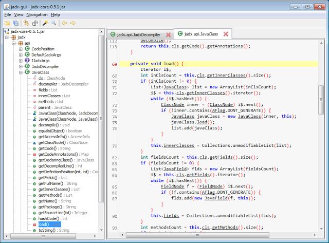 jadx-gui screenshot