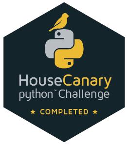HouseCanary Python Challenge Sticker