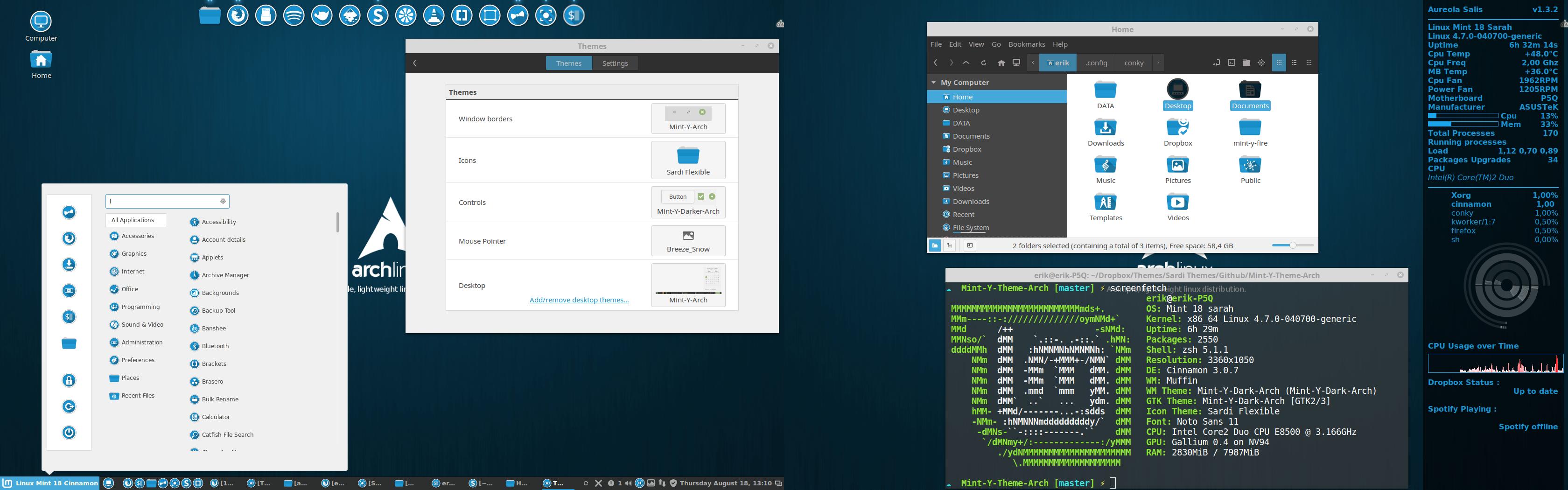 Linux Mint Themes