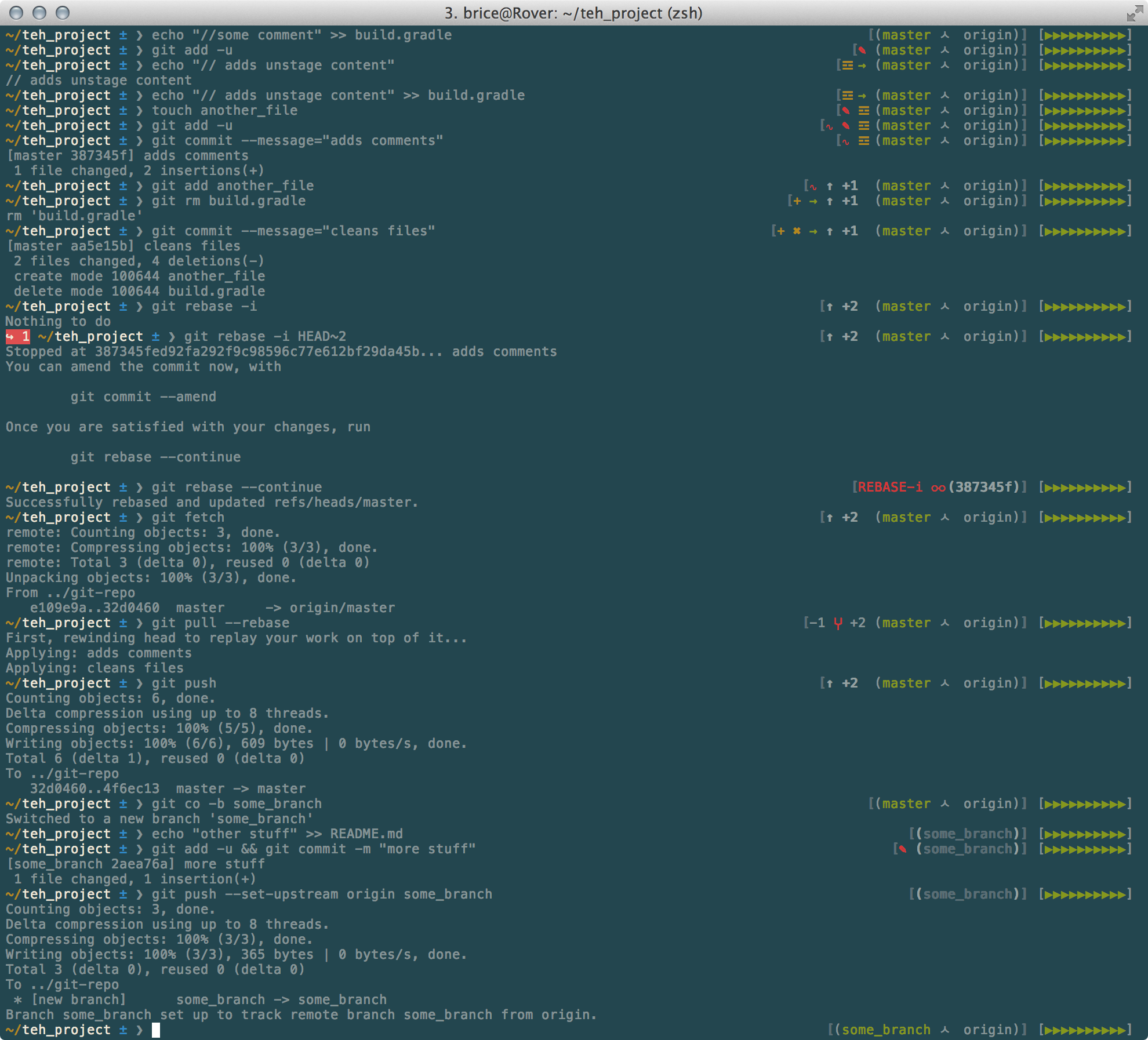 GitHub - bric3/oh-my-zsh-git: An opinionated git prompt