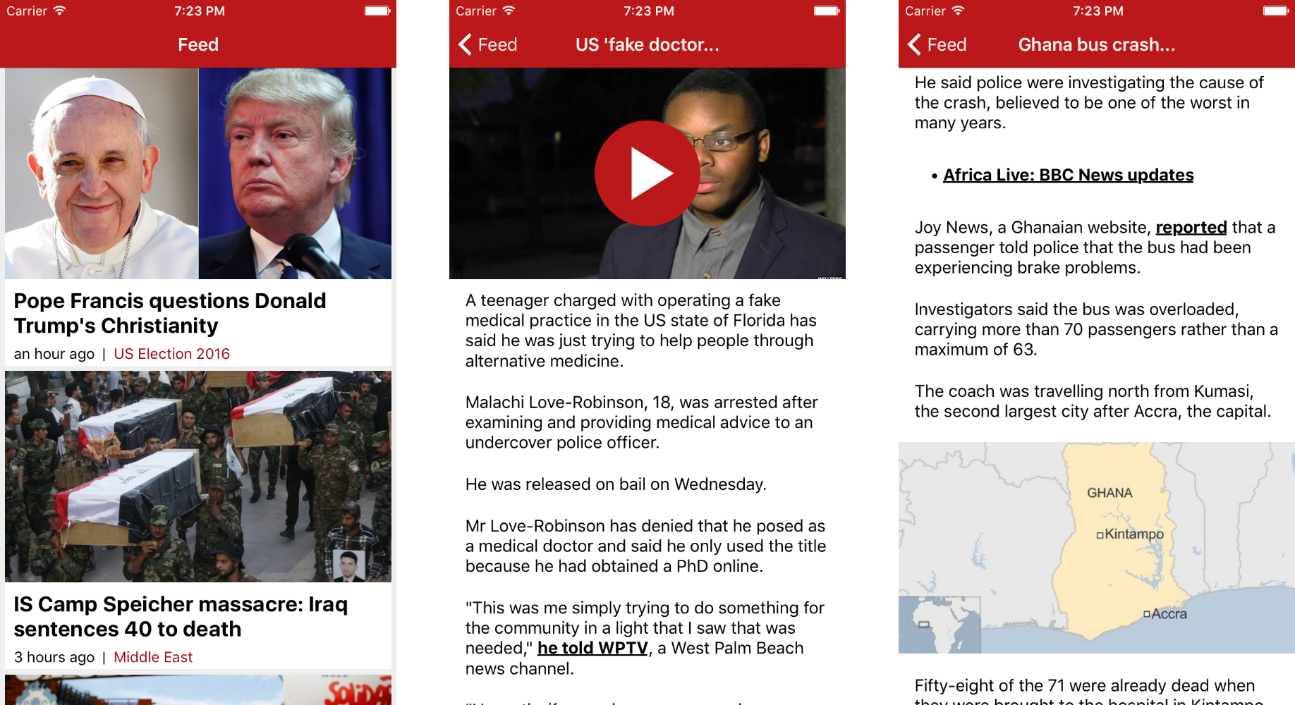 BBC News React Native