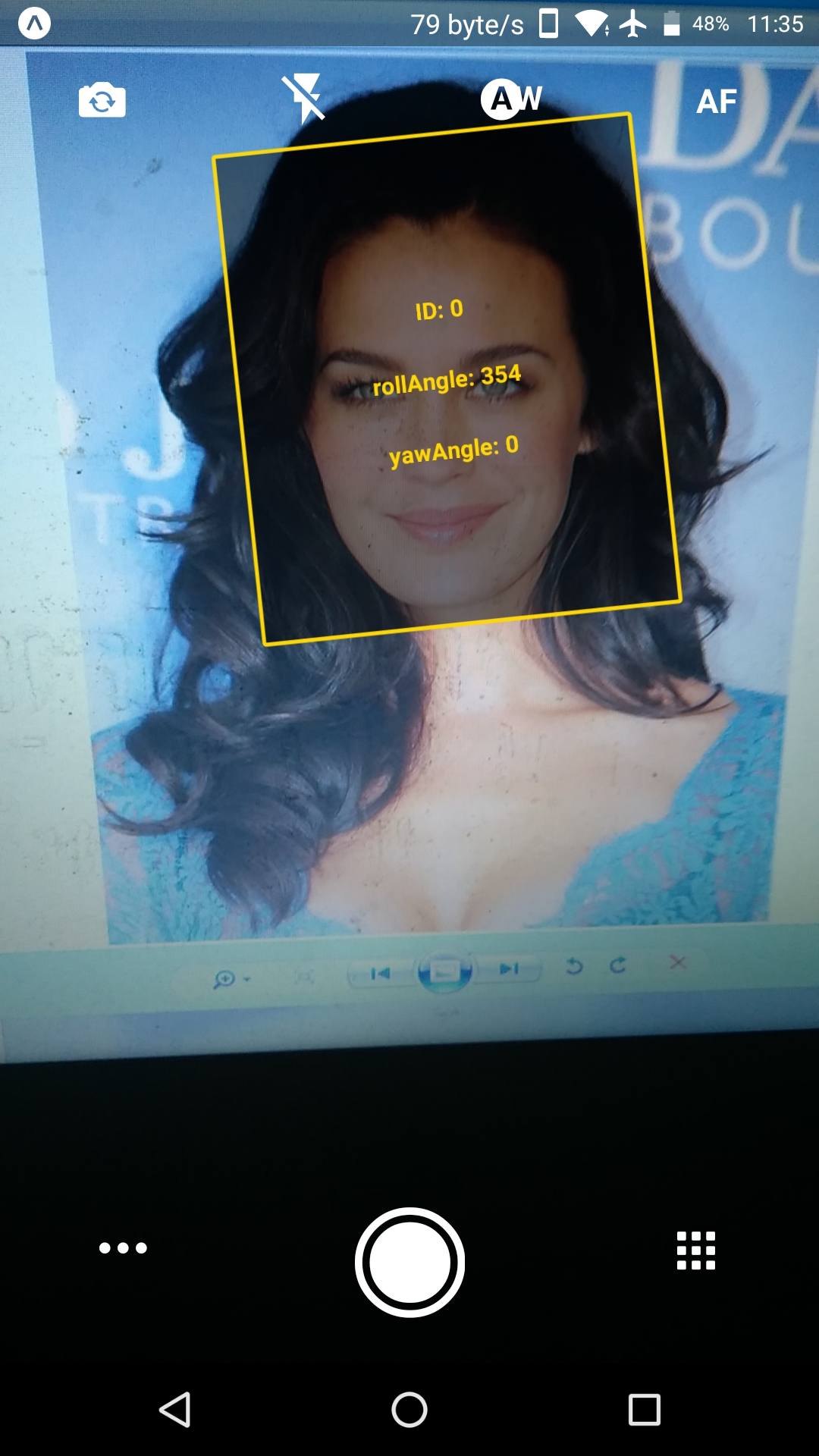 Save photo with the square of the face recognition · Issue #2092