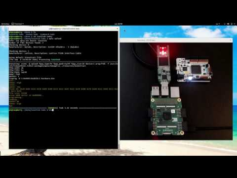 Apio in RPI2: iCEstick, Icezum and icoBOARD