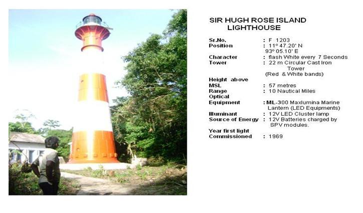 Sir Hugh Rose Island Lighthouse