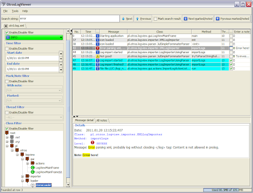 GitHub - otros-systems/otroslogviewer: Log viewer focused on