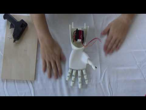 Assembly of 3D Printed Prosthetic Hand