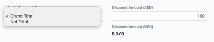 Discount Amount