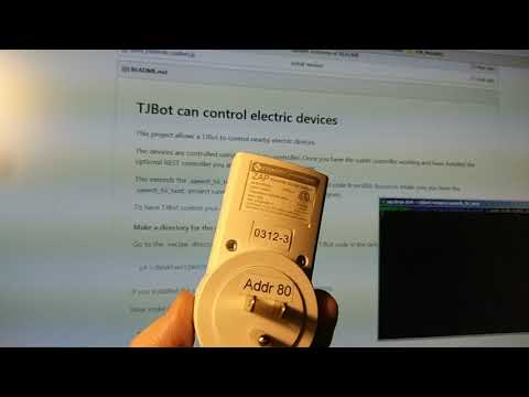 TJBot can control electrical devices