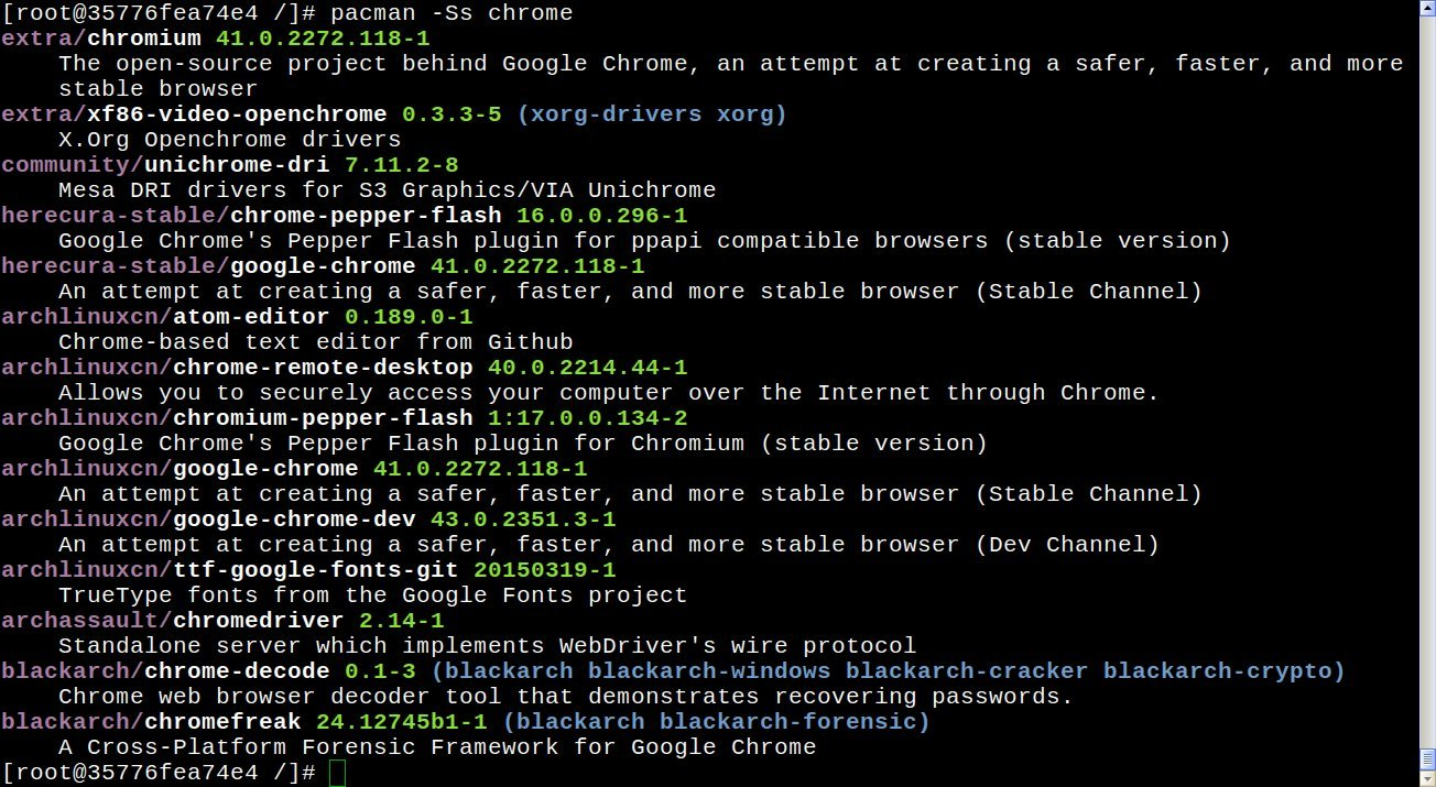 GitHub - yantis/docker-archlinux-tiny: Ultra Small < 100 MB Arch