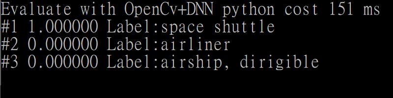 OpenCv DNN Result
