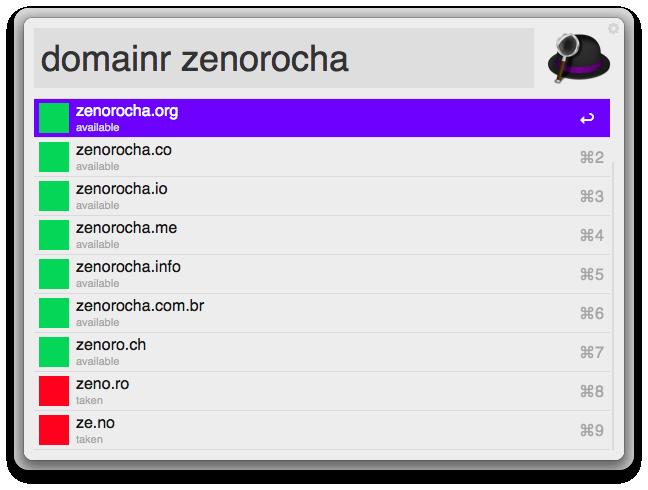 Domainr Workflow