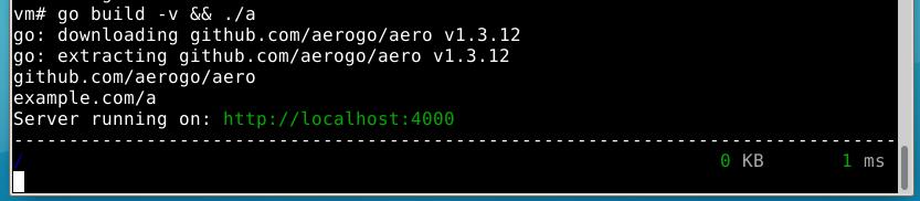 Aero 1.3.12 on OpenBSD