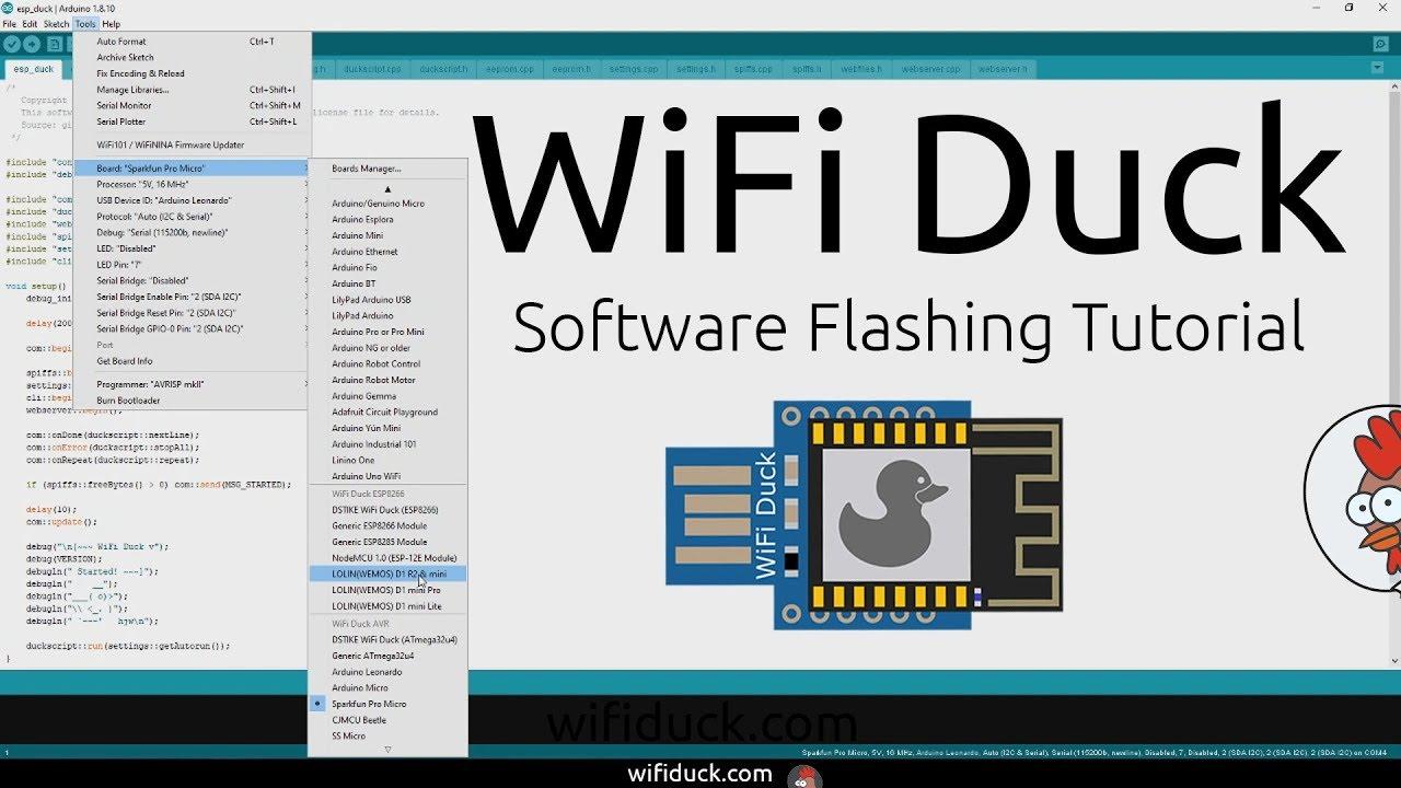 WiFi Duck Hardware Tutorial Video Thumbnail