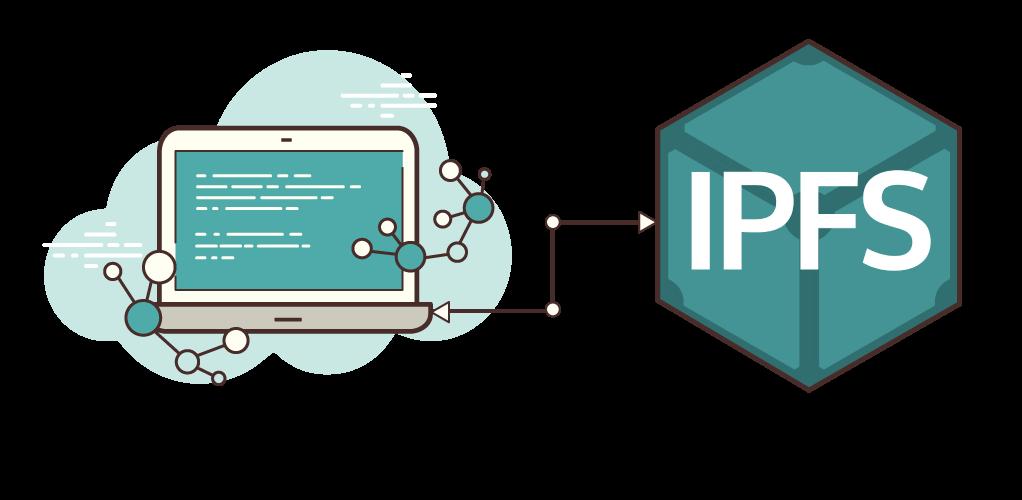 IPFS http client lib logo