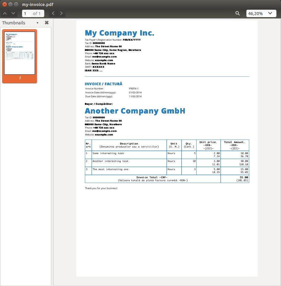 invoice pdf generator  GitHub - IonicaBizau/nodeice: Another PDF invoice generator