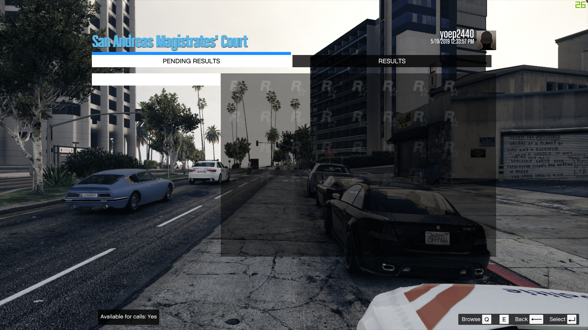LSPDFR crashes when pressing enter on an empty