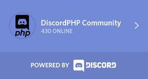 PHP Discorders