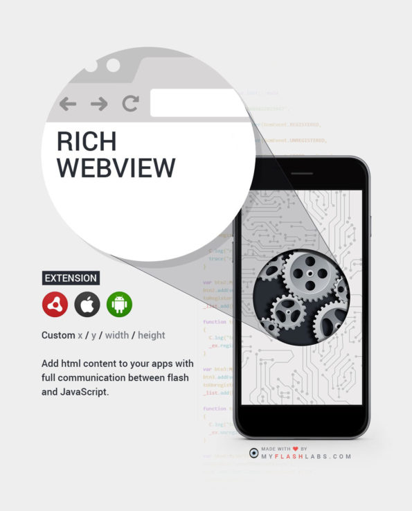 WebView ANE