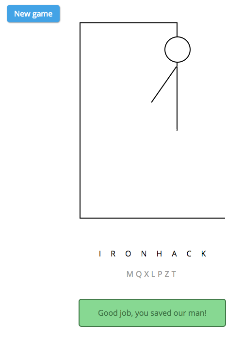 GitHub - ironhack-labs/lab-javascript-hangman: A code along