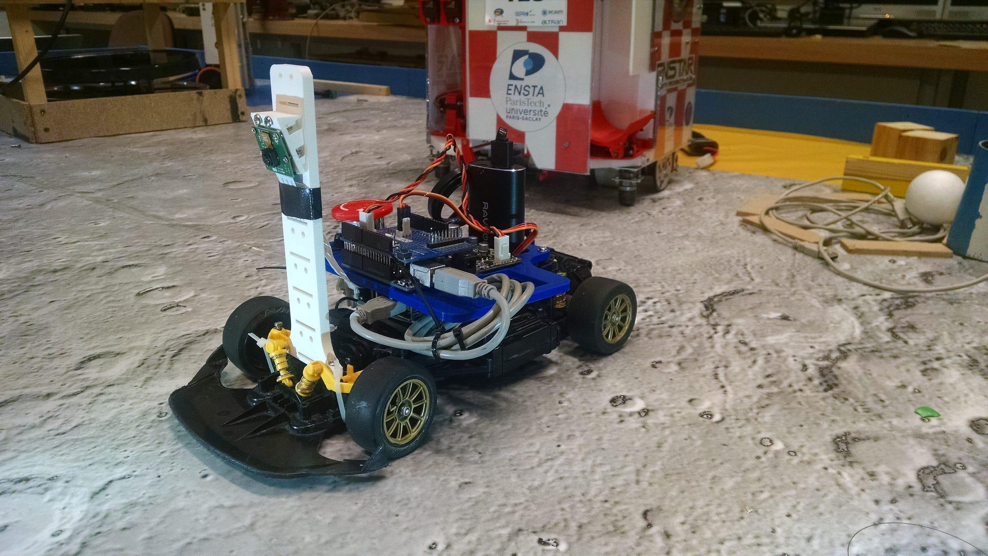 The racing robot