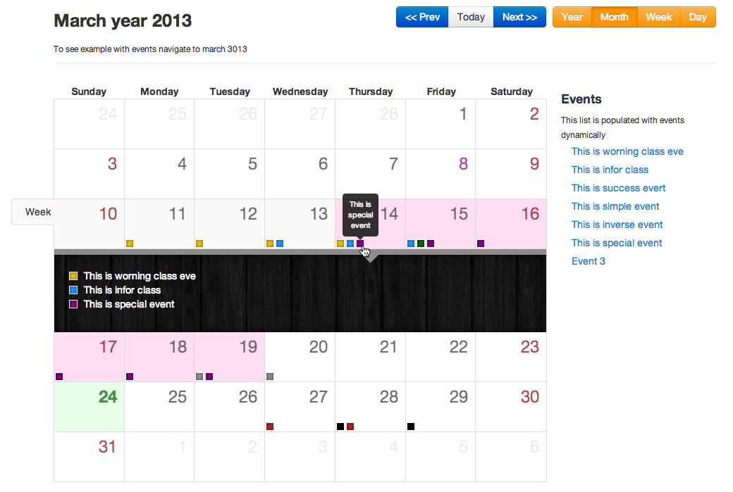 Bootstrap calendar on bower libraries bootstrap calendar saigontimesfo