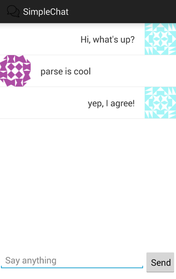 Building Simple Chat Client with Parse · codepath/android_guides