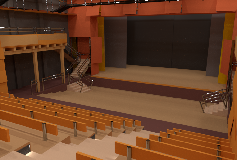 Theater rendered by rs_pbrt