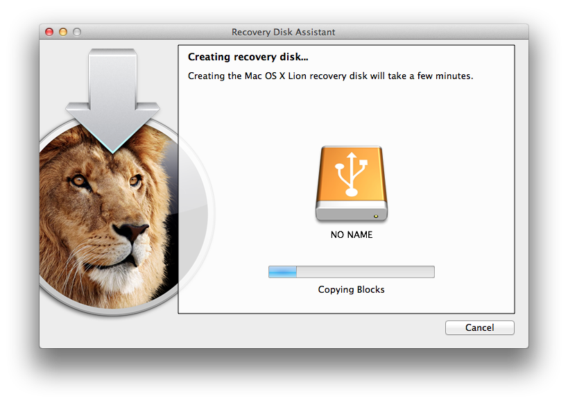 Creating Recovery USB