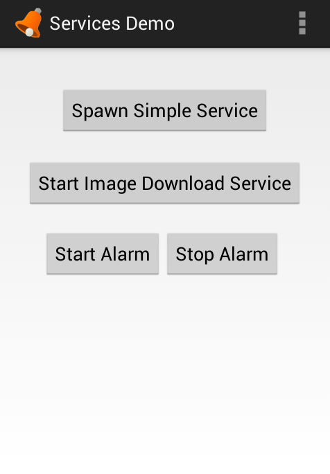 GitHub - codepath/android-services-demo: Android demo for services
