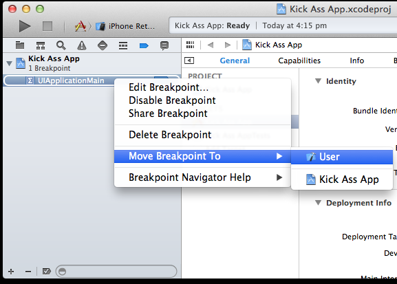 move breakpoint to user