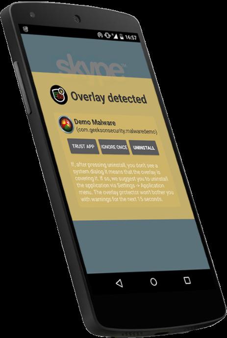 Overlay Detector