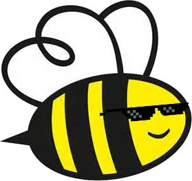 Esta abelha tem mais estilo que você