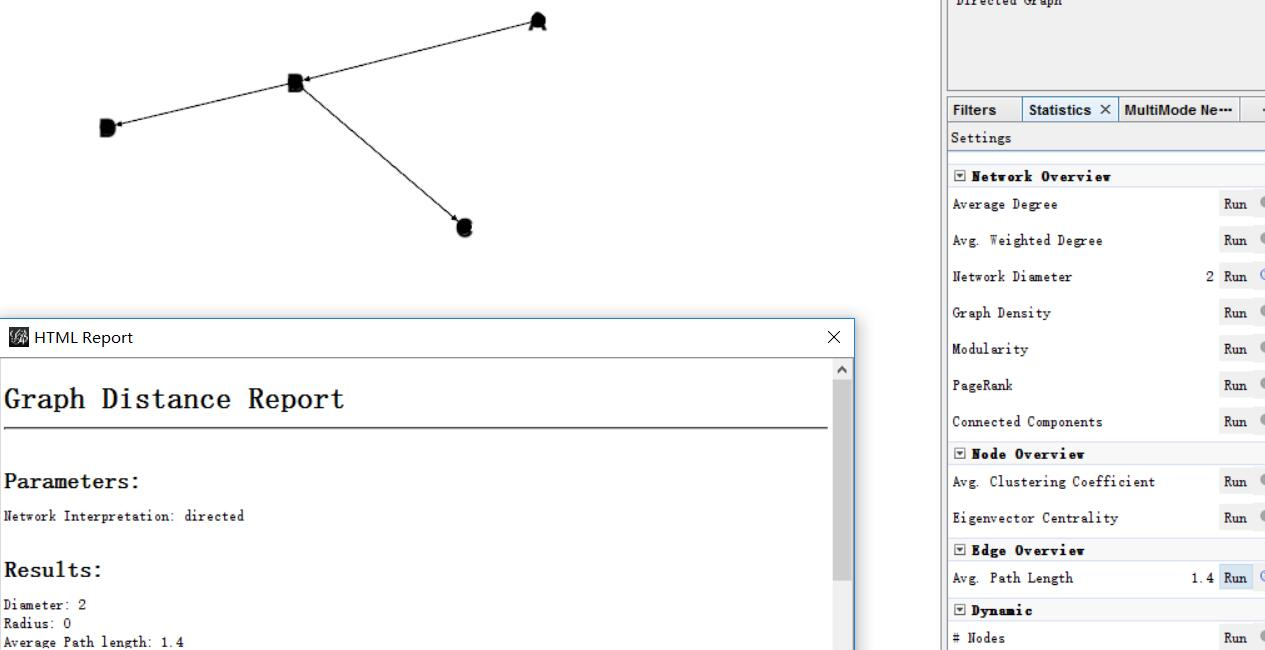 count the average path length of directed graph · Issue