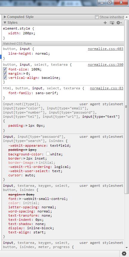 Input Type Textarea Size