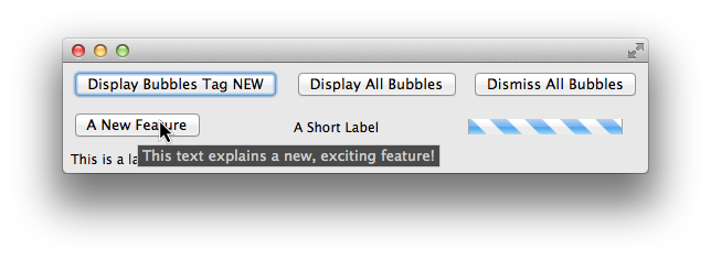 Bubble Widget
