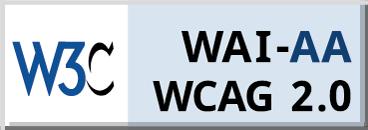 WCAG Conformance 2.0 AA Badge