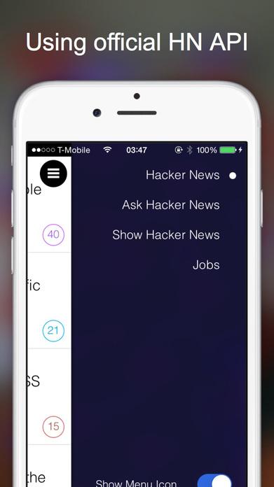 Hacker News Client image 2