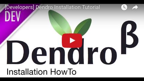 YouTube Development setup tutorial for Dendro