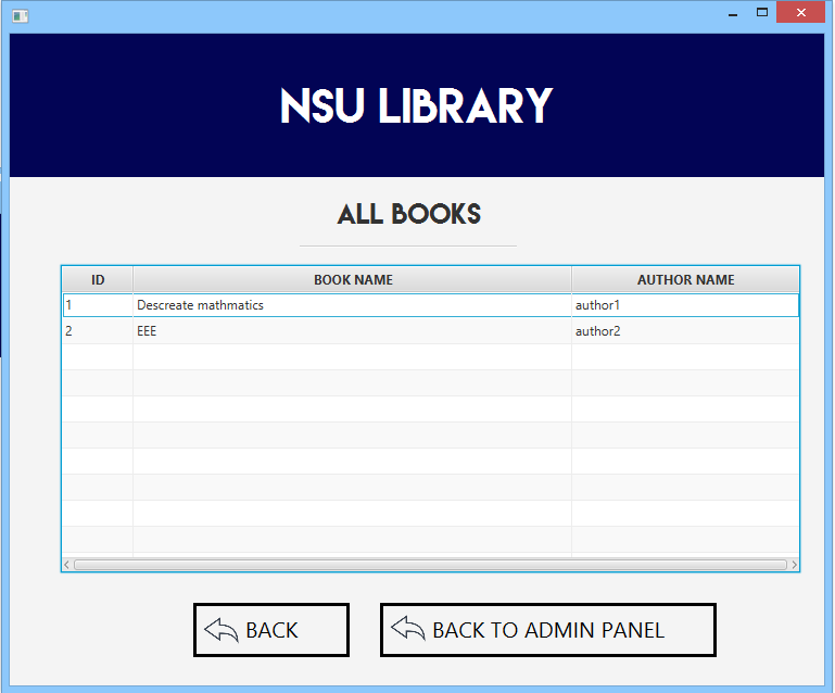 Github Kingrayhan Nsu Library A Simple Library Management System