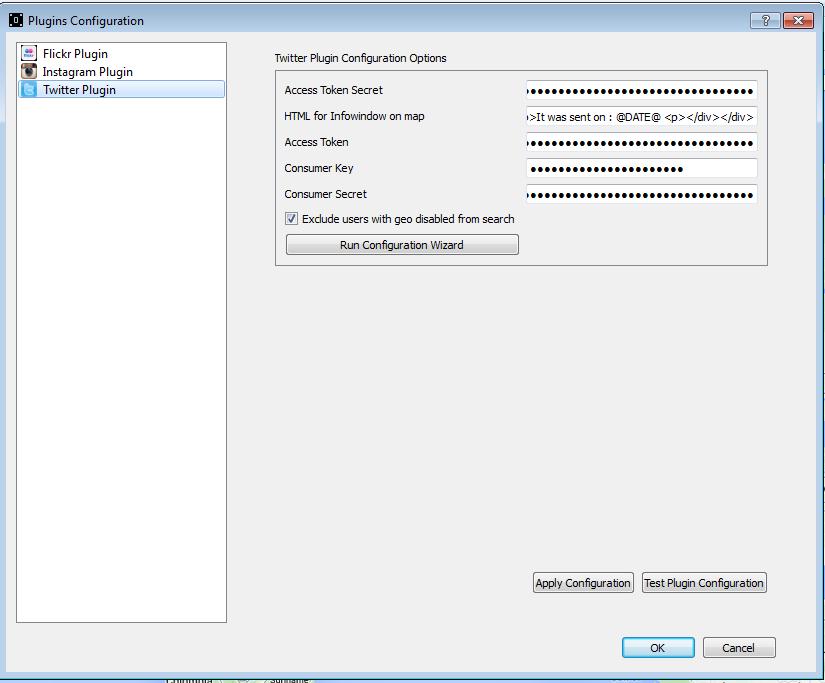 Plugin Configuration