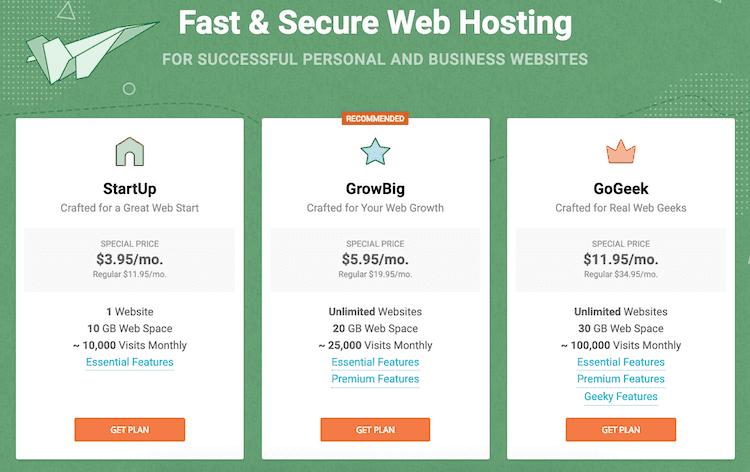 siteground Web Hosting Discount