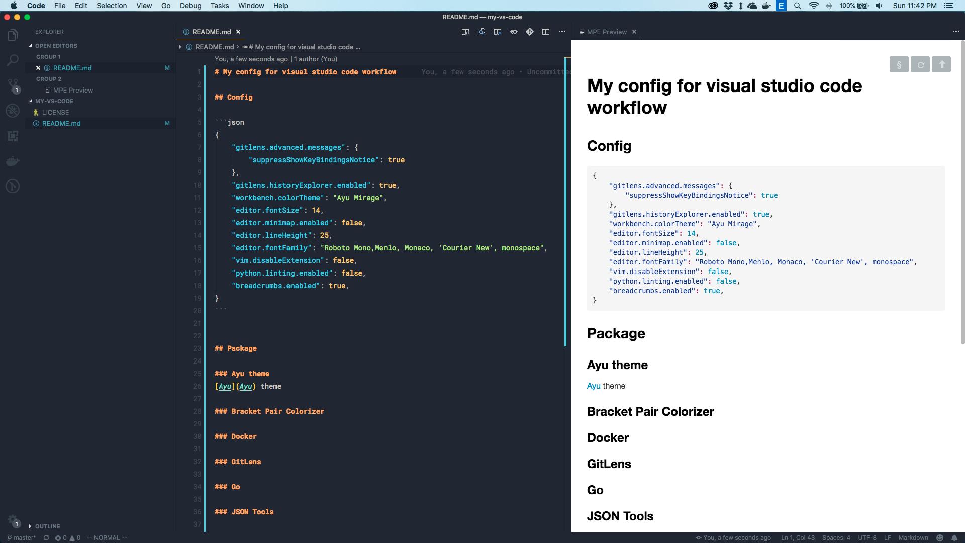 GitHub - halink0803/my-vs-code