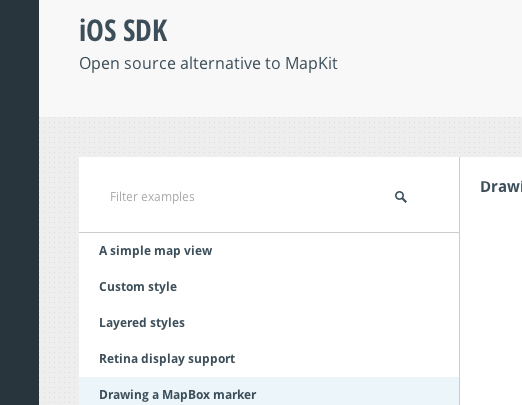 examples filter not showing up · Issue #293 · mapbox
