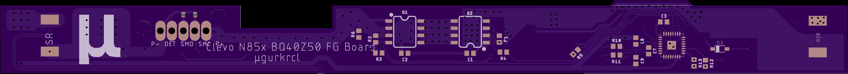 GitHub - ugurkrl/Clevo_N85X_FG_Board: BQ40z50/BQ4050 Fuel